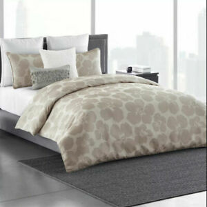 Simply Vera Vera Wang Floral Impression 3 Piece Comforter Set Size Queen King