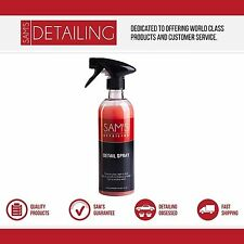 SAM'S Detail Spray - Quick Detailer - Enhances Gloss and Shine with Wax