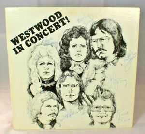 Westwood - Westwood In Concert! (Vinyl) Contempo Records (Autograph Signed Copy)