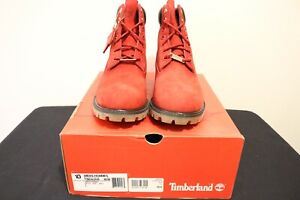 Timberland 6 inch Classic Boot for Men, Size 10 - Red Canada Edition *Brand New*