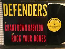 "DEFENDERS CHANT DOWN BABYLON/ ROCK YOUR BONES~RARE ROOTS PVT LB 12""~ALRIC FORBES"