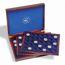 Münzkassette VOLTERRA TRIO DELUXE, für 105 Münzen bis Ø 32 mm, mahagoni (303369)