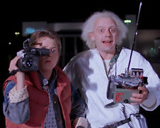 Michael J. Fox Christopher Lloyd Back To The Future 8x10 Photo lab Picture #107