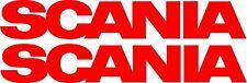 Scania HGV Truck  sticker decals for pods - glass - bodywork - decor - X2