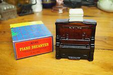 Vintage Avon Decanter Bottle with original Box – 1972 - Piano