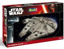 Star Wars 7 VII Figura Millennium Falcon Easykit Easy Modelo Kit 1/241 Nave