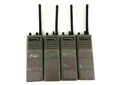Lot of 4 - Motorola HT600 H43SVU7160BN 6 Channel 5 Watt VHF 136-154 MHz