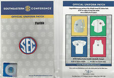 Florida SEC Conference Jersey Uniform Patch 100% Official College Football Logo