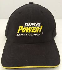 Diesel Power! Additives Hat Mens Black And Yellow -- Brushed Soft Feel