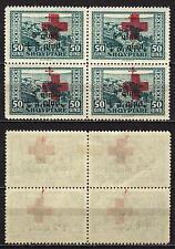 #817 - Albania - Pro Croce Rossa in quartina, 1924 - Nuovi