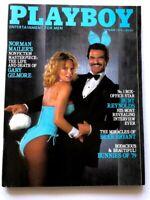 VINTAGE PLAYBOY MAGAZINE OCTOBER 1979 URSULA BUCHFELLNER BURT REYNOLDS BUNNIES