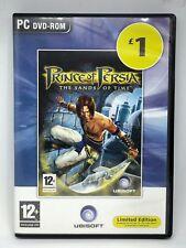 Prince of Persia: le sabbie del tempo (PC DVD ROM) A1 USATO