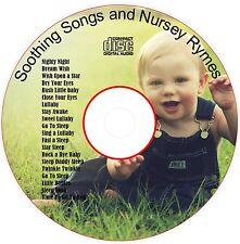 Children's soothing Songs Nursery Rhymes baby sleep aid relax peaceful(MD119)