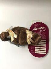 """MONIQUE Doll Wig Size 4""""-5"""" MEI Auburn NIB."""