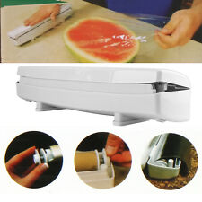 Home Kitchen Plastic Film Wrap Cling Dispenser Wax Paper Storage Easy Cutter New