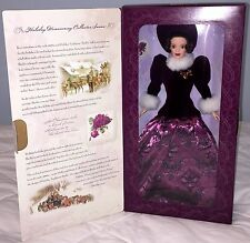HOLIDAY TRADITIONS 1996 CHRISTMAS BARBIE DOLL SPECIAL EDITION HALLMARK NEW GIFT