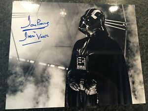 """Genuine Certified Dave Prowse Darth Vader Signed Photograph 10"""" X 8"""""""