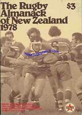 1978 RUGBY ALMANACK OF NEW ZEALAND