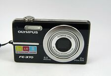 Olympus FE FE-370 8.0MP Digital Camera - Black