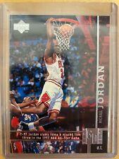 1998-99 Upper Deck Game Dated Michael Jordan Chicago Bulls (HOF)(#316)