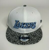 LA Lakers New Era 9Fifty Snapback White Gray Black Baby Blue Elephant Print NEW