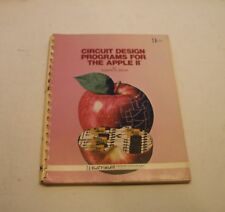 CLASSIC BOOK: Circuit Design Programs for the Apple II and Apple II Plus