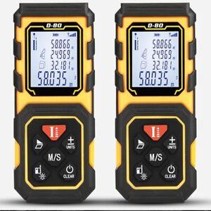 Handheld 40M Laser Rangefinder Distance Meter Measure Tape Digital Laser Measure