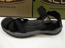 KEEN Womens Sandals Bali Strap Black Steel Grey Size 8