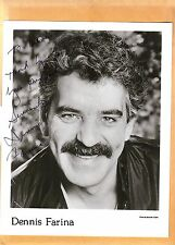 Dennis Farina-signed photo-15 a