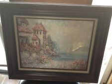 BEECH STREET ART COMPANY, Original/Signed Painting, Appraised w/COA and Framed