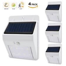 Dusk to Dawn Solar Powered Motion Sensor Security LED Wall Lights LED Floodlight