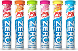 High 5 Zero Electrolyte Hydration Sports Drink Tablets Tube Nutrition Supplement