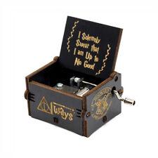 Carillon harry potter legno  manovella movimento a mano meccanismo raro colezion
