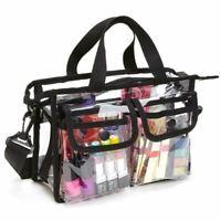 Transparente Umhänge Tasche, Kosmetik Tasche Wäsche Sack - Nfl Stadium Appr Z1G8
