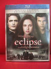 The Twilight Saga: Eclipse (Blu-ray Disc, 2010, Canadian) Special Edition New