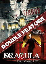 DOUBLE FEATURE: The Terror/The Satanic Rites of Dracula (DVD, 2016)