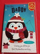 Al por mayor Tarjetas de Navidad-Papá-Pingüino de pesca