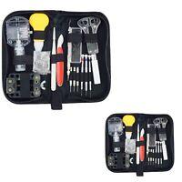 144 PCS Watch Repair Tool Kit Watchmaker Back Case Remover Opener Spring Pin Bar