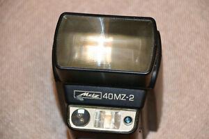 Blitzlicht Metz MECABLITZ 40 MZ-2 mit SCA3401 und SCA351