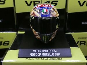 Minichamps 1:10 Valentino Rossi helmet Mugello GP 2014 MotoGP new 315140086