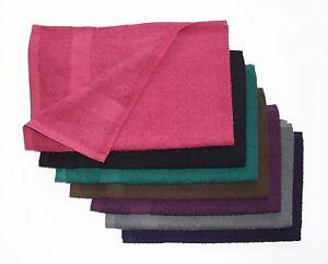 10 DOZEN-Wholesale lot of Bleach Resistant Hand Towels, 100% Ring Spun Cotton