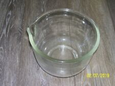 SMALL 1 1/2QT GLASS BOWL for Oster Regency Kitchen Center Mixer Replacement Part