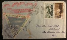1934 Trieste Italy Experimental Flight Rocket Mail Cover FFC to Germany