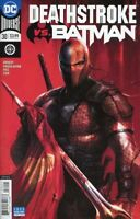 Deathstroke #30 (Mattina Variant / vs Batman / 2018 / NM)