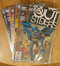 3 for 2 - DC – Outsiders Lot – #26 – 46 & 50 – 1st Prints – 2003