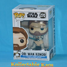 on Hand Funko Pop OBI Wan Kenobi #270 Star Wars Clone Vinyl Figure