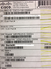UCSC-PSU2V2-1200W  CISCO 1200W V2 AC Power Supply for 2U C-Series Servers