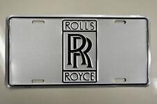 Rolls-Royce license plate, custom vanity tag, display plates vintage & modern