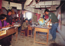 Carte BHOUTAN Expédition Buthan 92 Echange Ecole primaire de Radi