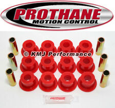 Prothane 9-1003 68-71 IH Scout 800 Front Spring Eye Shackle Bushing Kit Red Poly